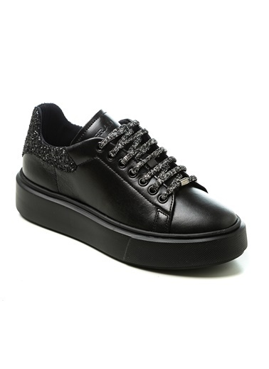Frau Bağcıklı 0As9W2024878 Kadın Ayakkabı Siyah